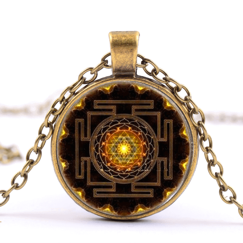 Collar Sri Yantra