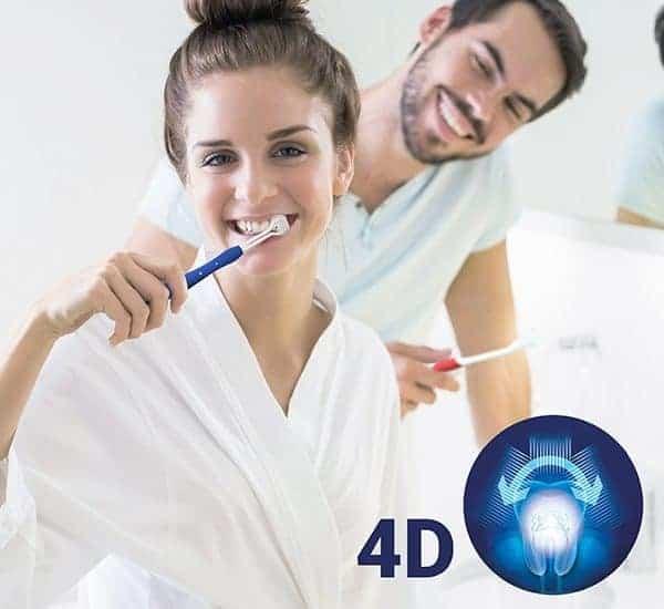 Cepillo de dientes 4D (pack de 2)