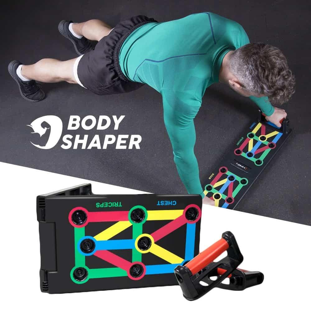 BODY SHAPER® Tabla de flexiones