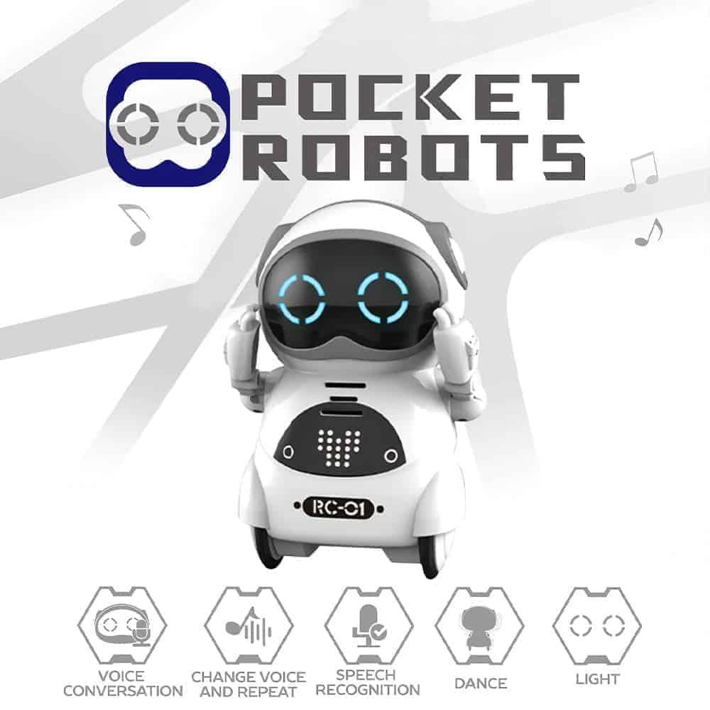 MINI ROBOT DE BOLSILLO EDUCATIVO