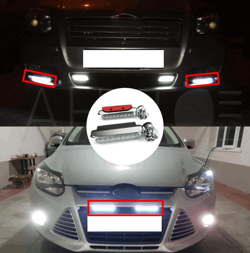 Luz de coche LED de energía eólica